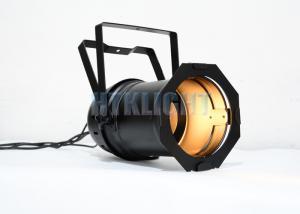 China COB Warm / Cool White Par 64 LED Theatre Spot Lights 200W 0 - 20 Times Per Second Strobe on sale