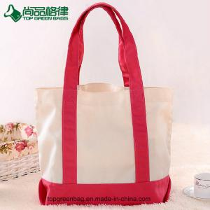 China 2017 New Style Fashion Unique Ladies Gift Bag CanvasCustom Printed Canvas Tote Bag Cheap Beige White Cotton Shopping Bag on sale