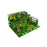 China Commercial Indoor Jungle Gym Equipment / Kids Indoor Playset 90CBM Volume on sale