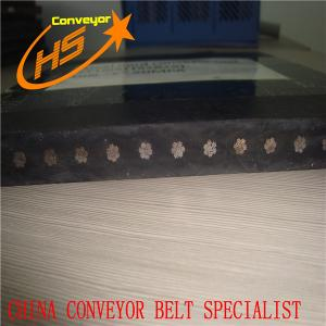 China ST1000 steel wire belt for coal and iron ore transporting on sale