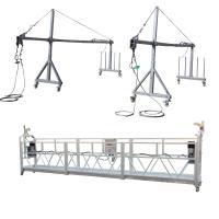 Aluminum ZLP800 Suspended  Platform 7.5m  380V / 50HZ / 3P 100m Height