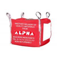 PP Woven Food Grade Bulk Bags With Zipper Closure