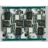 Blue quick turn PCB Assembly 4 layer HASL board with all SMD parts