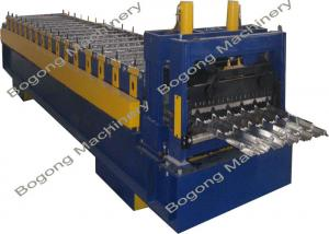 China Custom Steel Panel Roof Tile Roll Forming Machine Large Load Capacity on sale