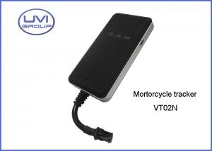 China VT02N Mini 900 1800 MHz GSM / GPRS Vehicle Real Time GPS Tracking Device For Motorcycle on sale