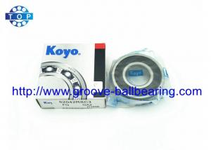China Low Noice Radial Motor Deep Groove Ball Bearing 6204 2RS For SMT Machine on sale