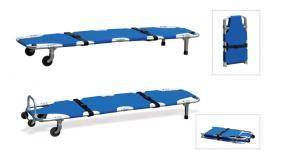 China portable Emergency folding patient transport stretcher 93 × 52 × 10cm for ambulance on sale