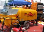 60m3/h Diesel Engine Concrete Pump Trailer Mounted Concrete Pump