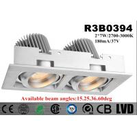 2700k - 3000K LED Recessed Downlight With 15 / 25 / 36 / 60 Deg Beam Angle
