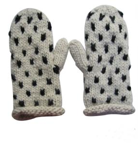 China Hot sale fashion winter warm knitted gloves on sale