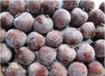 High Grade IQF Frozen Fruit , Quick Freezing Whole Unpeeled Lychee