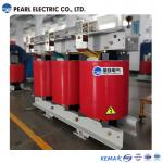 Three Phase Dry Type Transformer With Cooling Fans , 1600 Kva Capacity