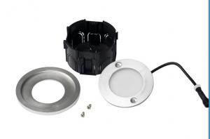 China Recessed Mini 12Volt LED Wall Lights Indoor With Soft Light / Diffused Epoxy Lenses on sale