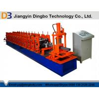 Hydraulic Cutting Steel Storage Rack Roll Forming Machine With With 5 Ton Decoiler