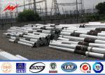 12m 800daN 1600daN direct burial electric steel pole monopole
