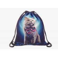 China Custom Printed Drawstring Bag Backpack , Design Your Own Drawstring Bag on sale