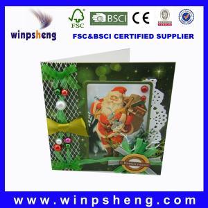 China new design christmas card on sale