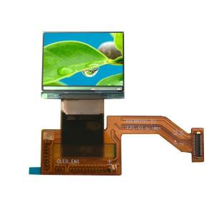 China 0.95 inch AMOLED wearable display 16.7M Color oled screen with 4-wire SPI I2C on sale