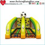 kids Football throwing games air soccer goal inflatable football goal