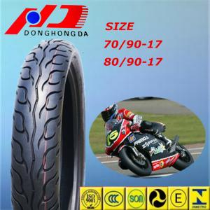 China Nom Certificate Mexico 70/90-17 Street Racing Motorcycle Tyre on sale