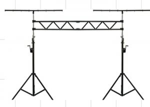 China Outdoor Stage Lighting Truss / Stage Truss Lift Tower for Bar Lights or Studio lights on sale