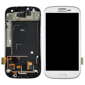 China 4.8 inch Original Samsung I9300 LCD Screen Mobile Phone Digitizer on sale