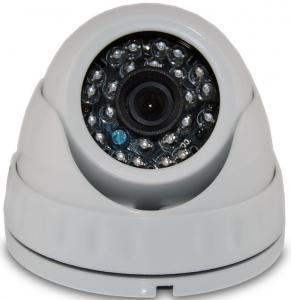 China Miniature AHD CCTV Camera , 720P HD TVI Vandalproof Dome Camera 1.0MP on sale