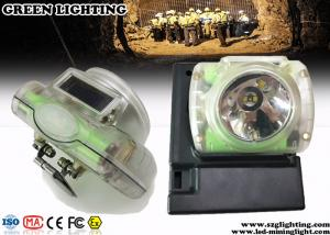 China 13000 Lux  Rechargeable Led Headlamp with USB Charger OLED Screen on sale