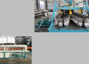China Aluminum Paper Craft 50kg/H Flexible Pipe Machine on sale