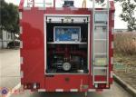 Qualitative Carbon Steel 2000L Water Fire Pumper Truck 105km/H