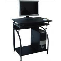 Stylish Computer Desk office Furniture Contemporary Black Wood DX-E015