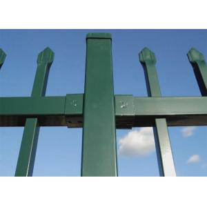 China Chaud d'usine plongé galvanisé et poudre a enduit la clôture en acier ornementale dans les industries et l'atelier on sale