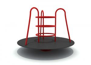China Sturdy Outdoor Rotating Playground Equipment High Temperature Baking Finished on sale