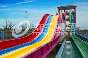China Fiberglass Waterslide for Adult Water Sport Holiday Water Resort  / customized on sale