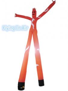 China 6m Outdoor Advertisement 2 Legs Air Dancer/Sky Dancer with 2 Blowers on sale