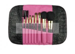 China Luxury Basic Mini Travel Makeup Brush Set with Magnetic Pouch on sale