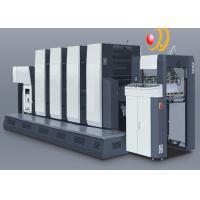 Quarto Paper Multicolor  4 Color Auto Print Offset Machine With Uv Drier