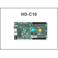 China HD-C10 rgb control card/ Asynchronous cascading controller/USB port full color controller on sale