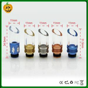 China pyrex 510 drip tips fitting rda Tank atomizers on sale
