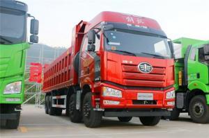 FAW J6P Lhd Heavy Duty Dump Truck 8*4 Low Tipper Rigid
