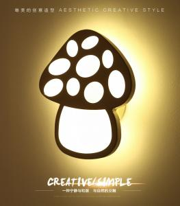 China Mushroom contemporary Acrylic LED wall light /inside led wall lamps for drawing room on sale