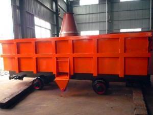 0 7 Cubic Meter Underground Mining Equipment Rail Car Low