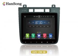 China 10.1 Inch VW Car DVD Player Navigation System For Vw Torueg 2012 on sale