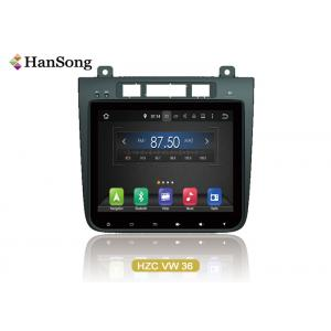 China 10.1 Inch VW Car DVD Player Navigation System For Vw Torueg 2012 on sale