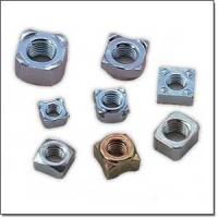 Customize special size high quality zinc plated carton steel or stainless steel Hex welding nut auto fastener