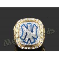 High End Zinc Alloy Ring New York Yankees Rings For Men UV Resistant