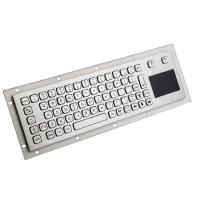 China Waterproof Keyboard Mouse Touchpad , Wireless Keyboard With Touchpad Stainless Steel on sale