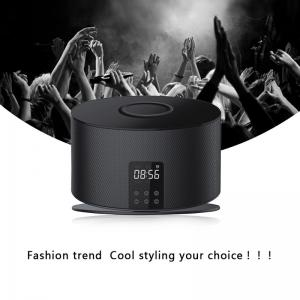 China Blue-tooth 3.0 Wireless 10W Speaker With QI Wireless Charger For Iphone 8 8 plus x on sale