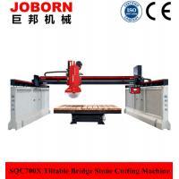 China Tipo inclinable cortadora de Joborn SQC700X de la piedra para el mármol y el granito on sale
