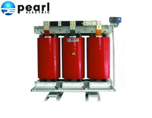 China 11kV - 1600kVA Cast Resin Dry Type Transformer Air Cooling Fan Low Noise on sale
